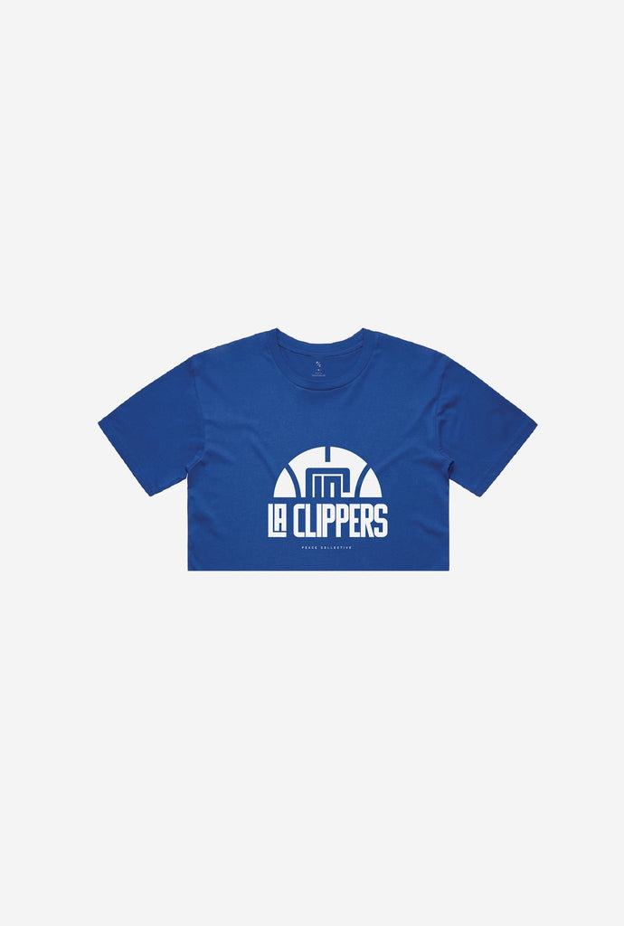 Los Angeles Clippers Basketball Premium Cropped T-Shirt - Royal