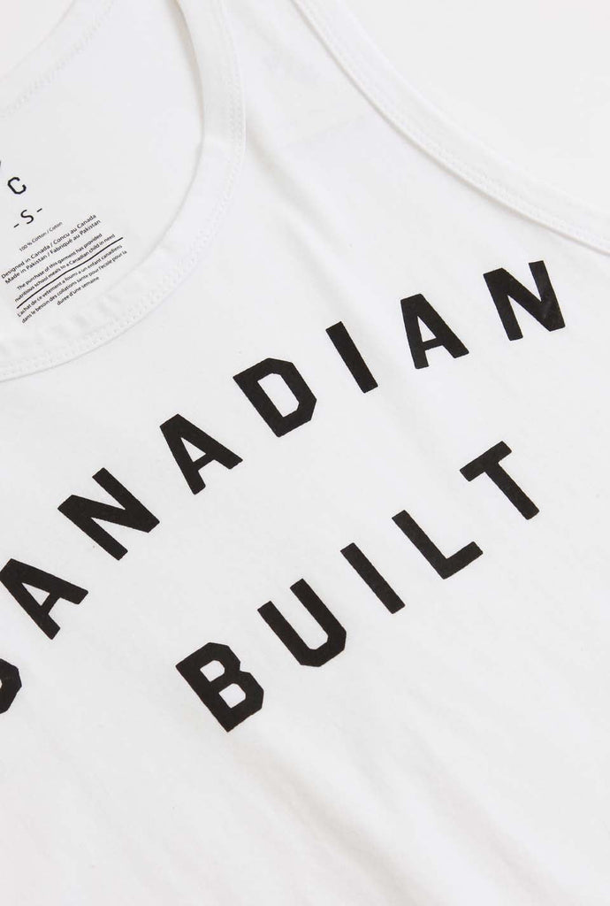 Canadian Built Tank - White