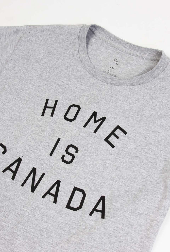 Home is Canada T-Shirt - Grey