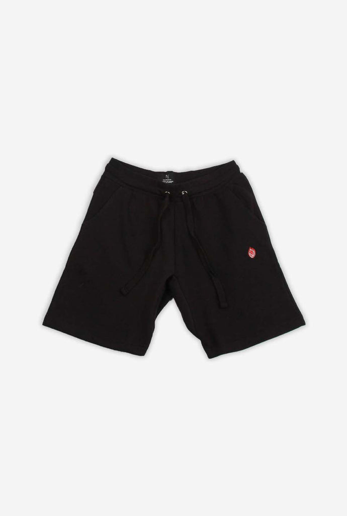 Hoop Dreams Patch Shorts - Black
