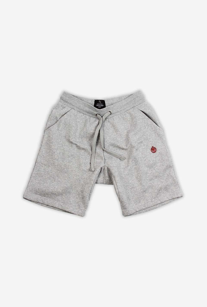 Hoop Dreams Patch Shorts - Grey