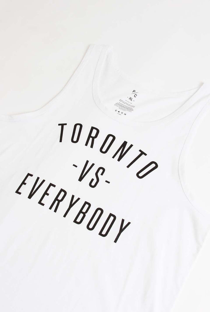 Toronto -vs- Everybody Tank - White