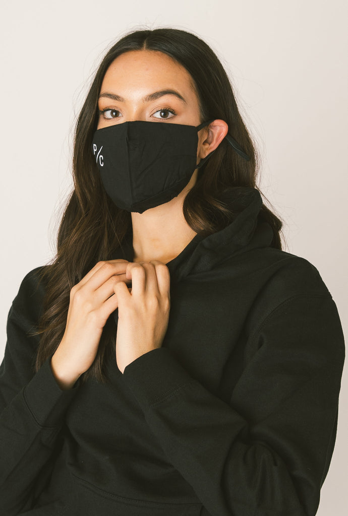 P/C Face Mask - Black