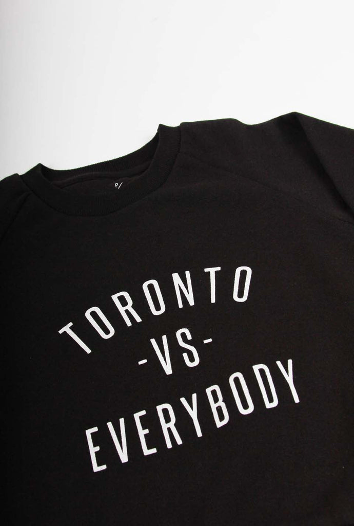 Toronto -vs- Everybody Kids Crewneck - Black