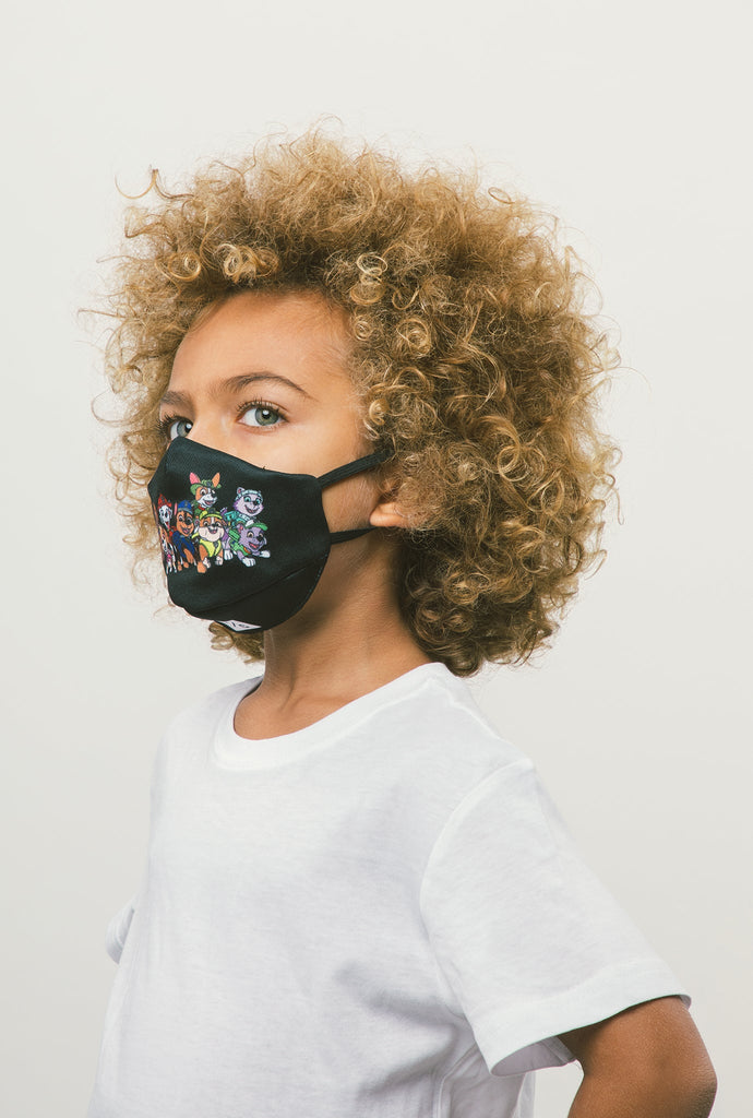 P/C x Paw Patrol Kids Face Mask - Black