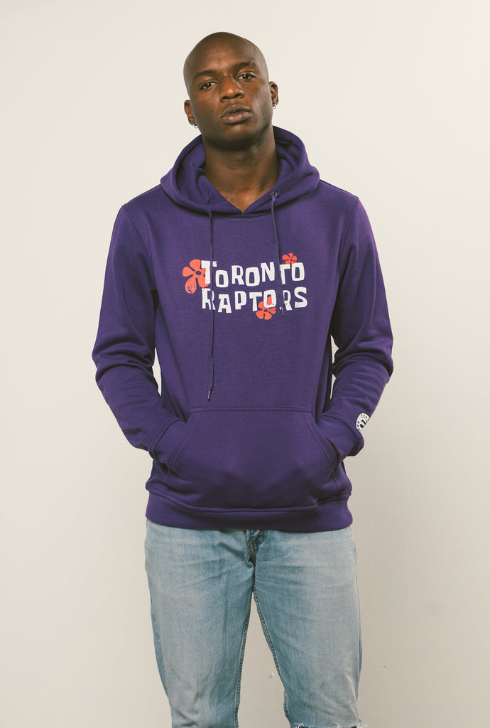 NBA x Spongebob Toronto Raptors Hoodie - Purple