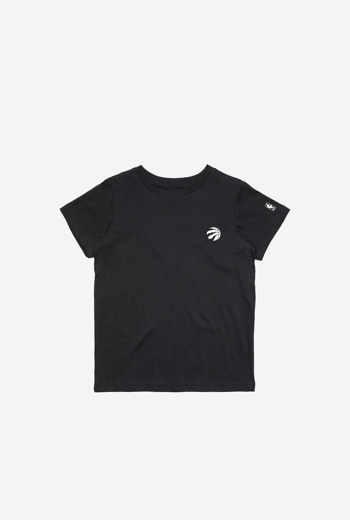 Toronto Raptors Logo Youth T-Shirt - Black