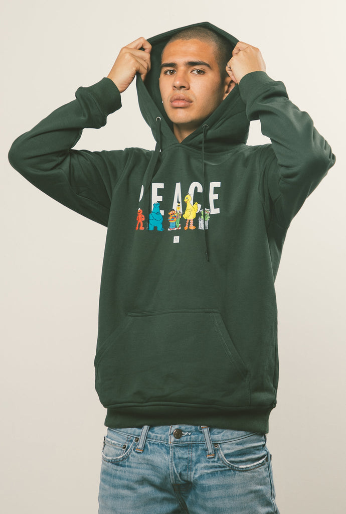 P/C x Sesame Street Hoodie - Forest Green