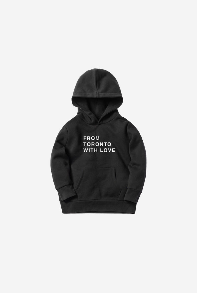 From Toronto with Love Kids Hoodie - Black