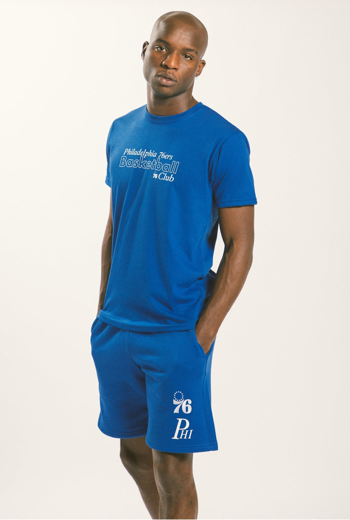 Philadelphia 76ers Drawstring Shorts - Royal