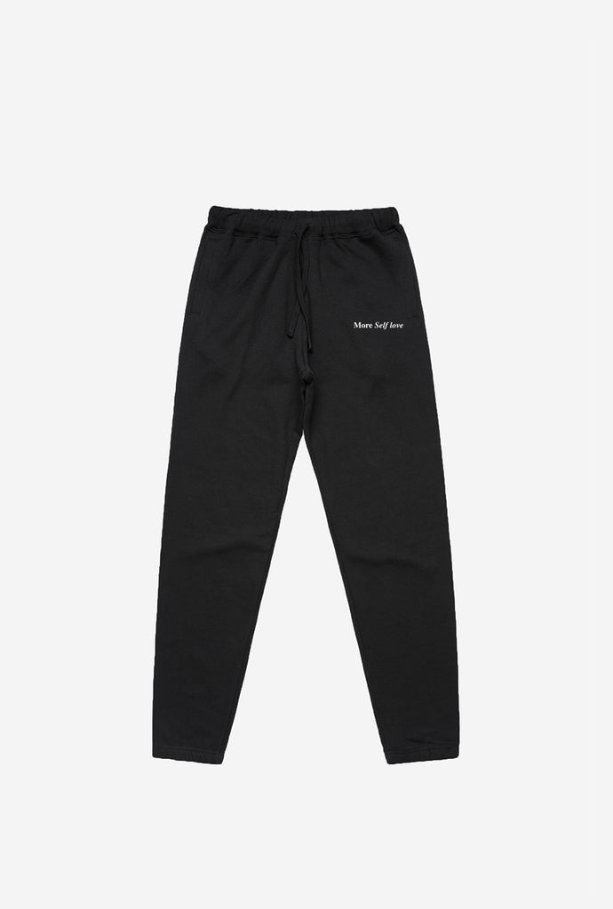 More Self Love Joggers - Black
