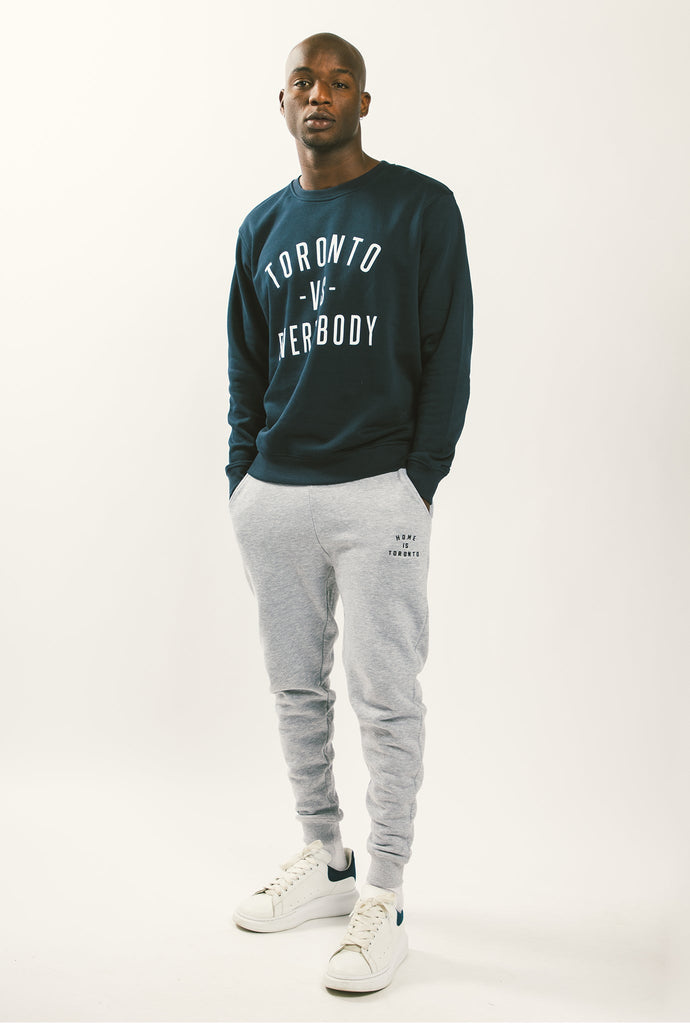 Toronto -vs- Everybody Crewneck - Navy