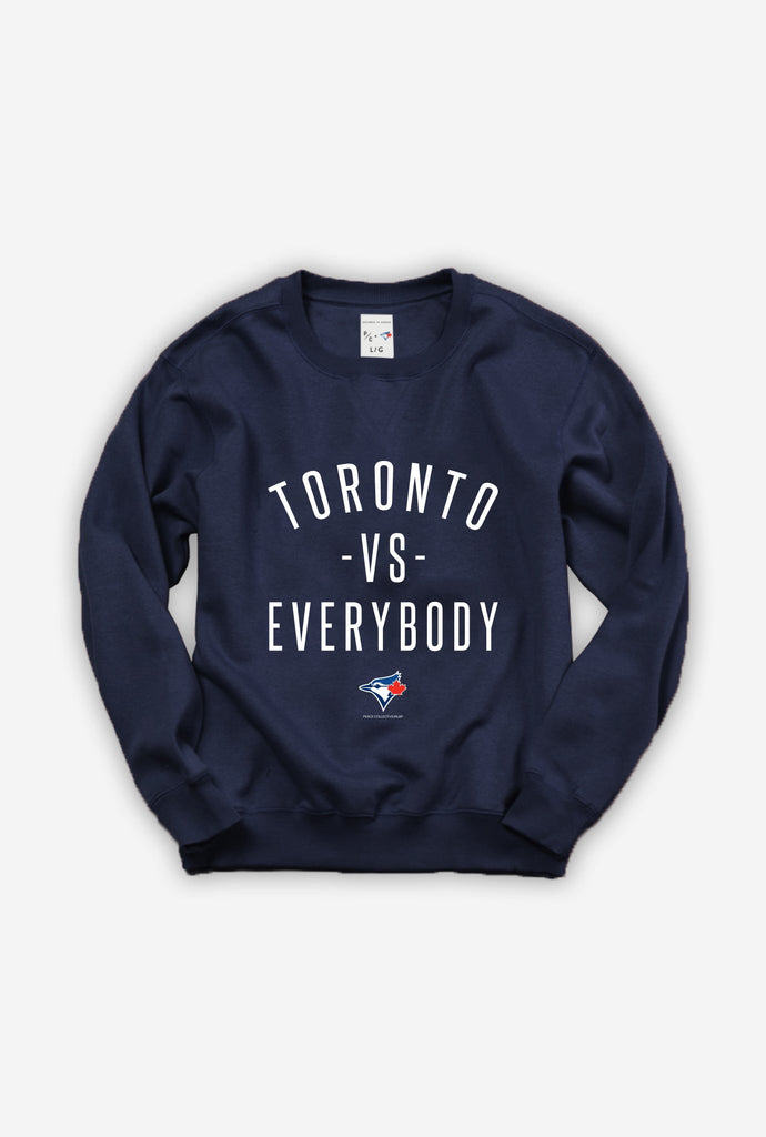 Blue Jays™ Toronto -vs- Everybody® Crewneck - Navy