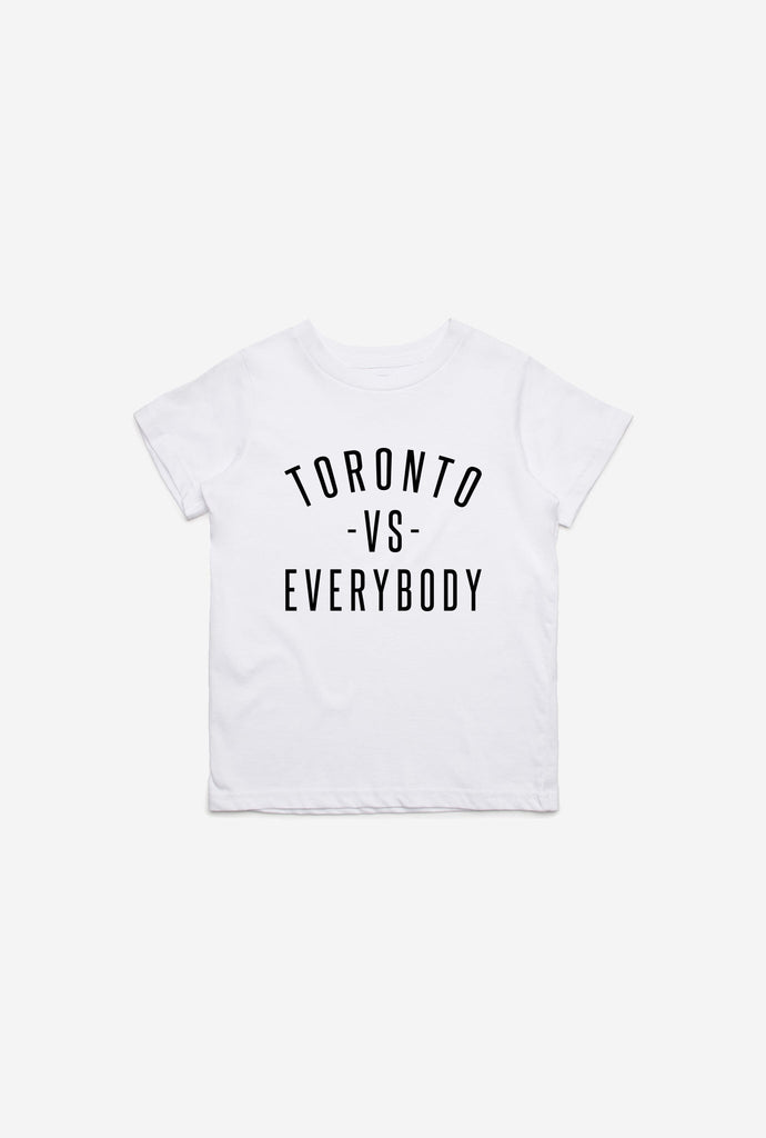Toronto -vs- Everybody Kids T-Shirt - White