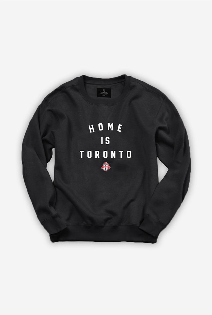 Home is Toronto FC Crewneck - Black