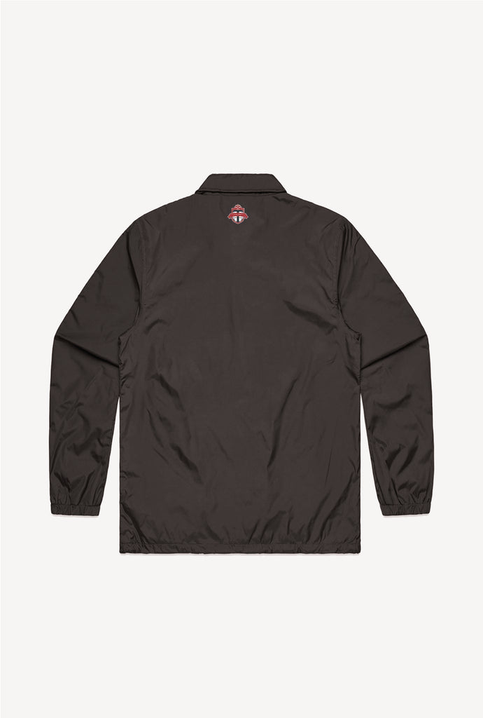 Final Sale - Toronto FC Coach Jacket - Black