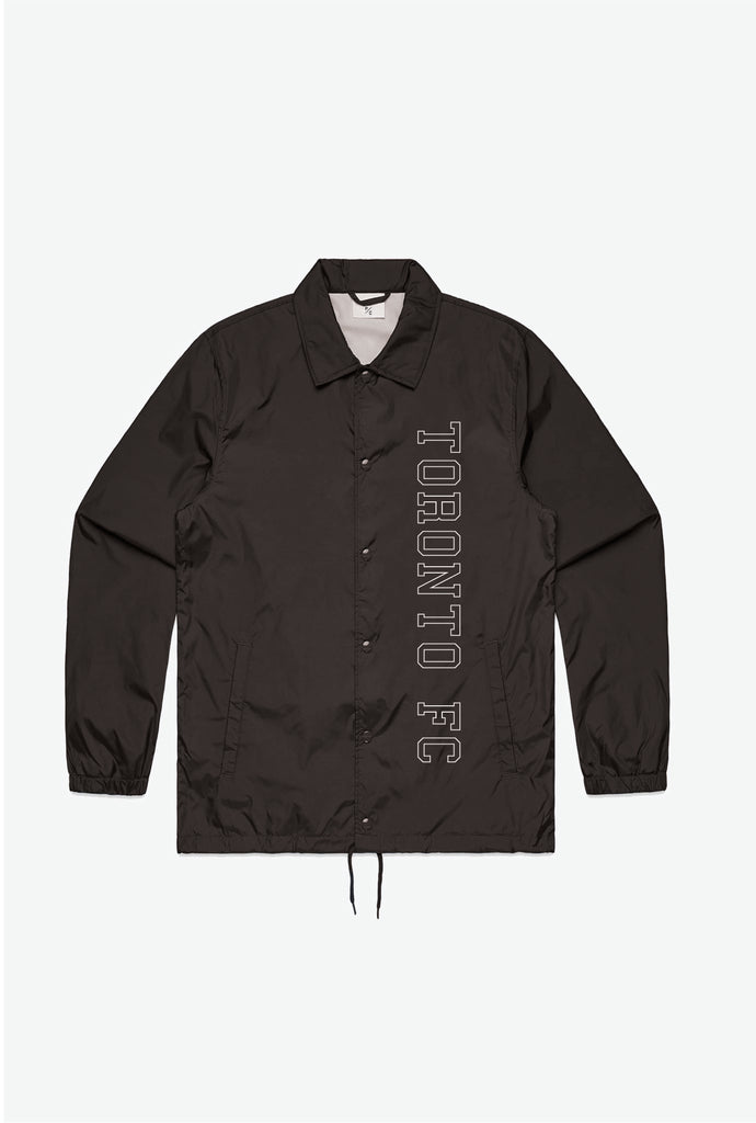 Toronto FC Coach Jacket - Black