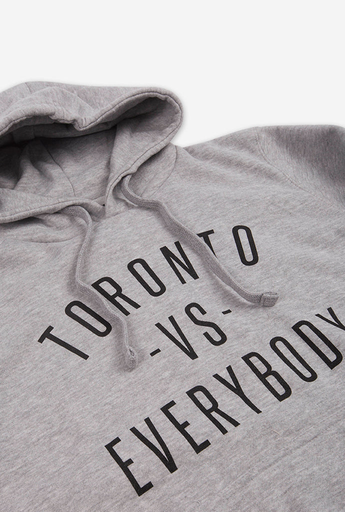 2985154f0 Toronto -vs- Everybody® Hoodie - Grey | Peace Collective