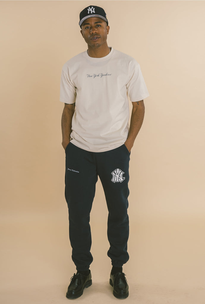 New York Yankees Oversized Jogger - Navy