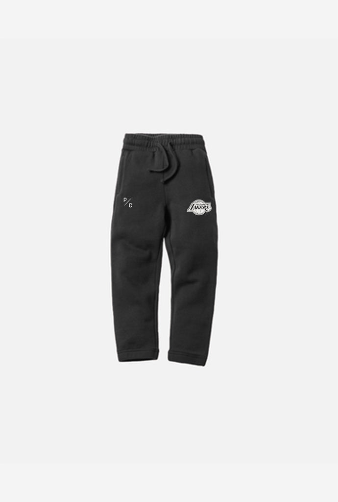 Los Angeles Lakers Logo Kids Jogger - Black