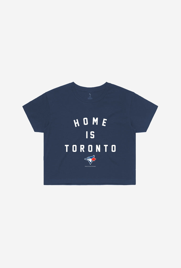 Blue Jays™ Home is Toronto Cropped T-Shirt - Navy