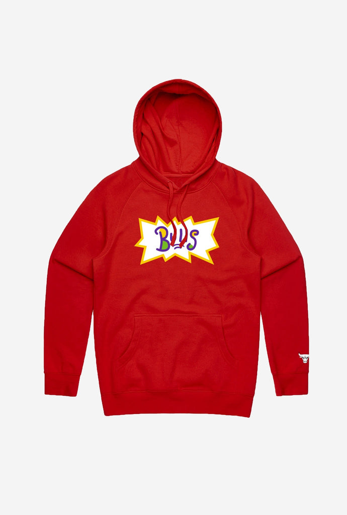 NBA x Rugrats Chicago Bulls Hoodie - Red