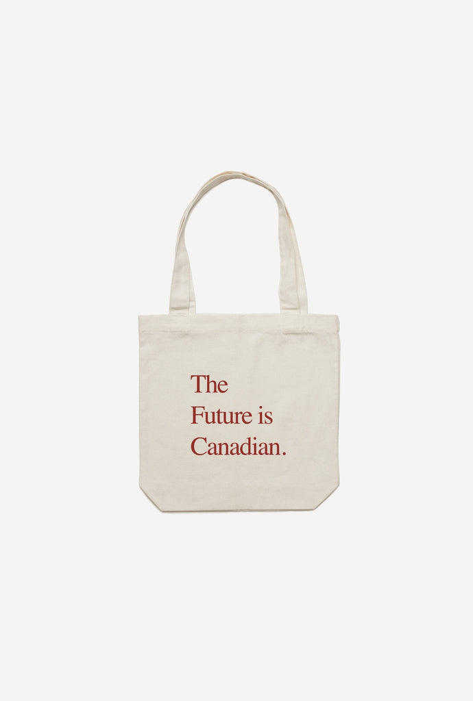 Tote Bag - Future is Canadian