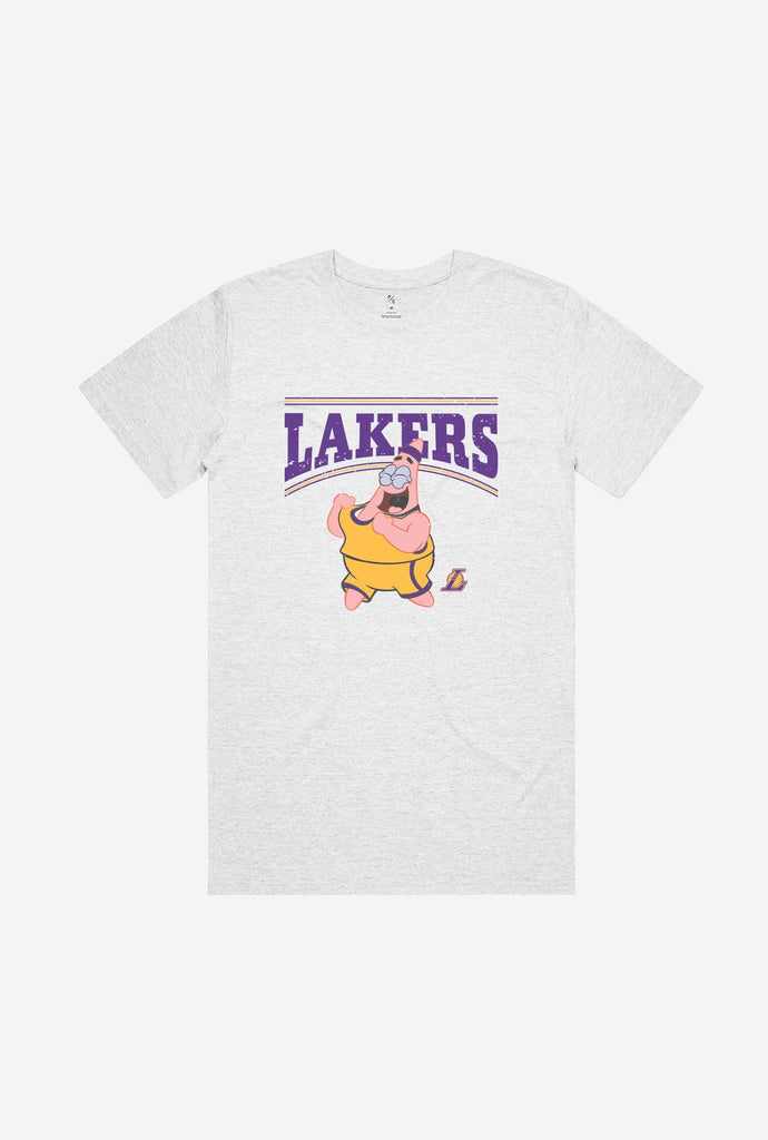 Los Angeles Lakers Patrick Vintage T-Shirt - Ash