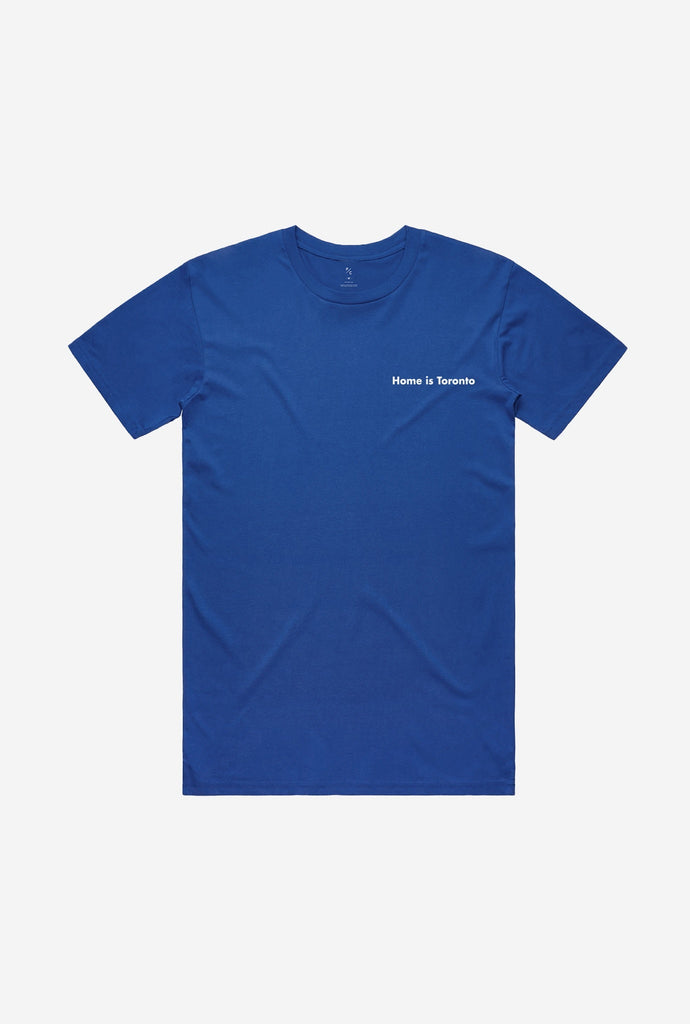 Home is Toronto Minimal Logo T-Shirt - Royal