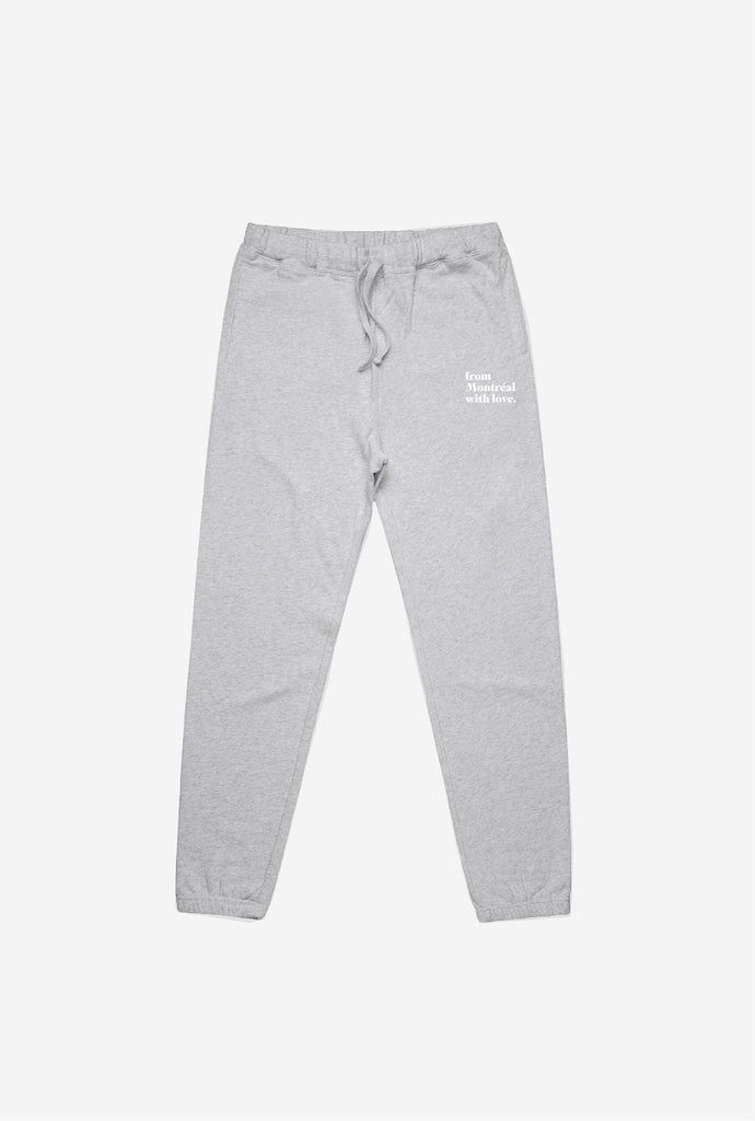 From Montreal With Love Jogger - Grey