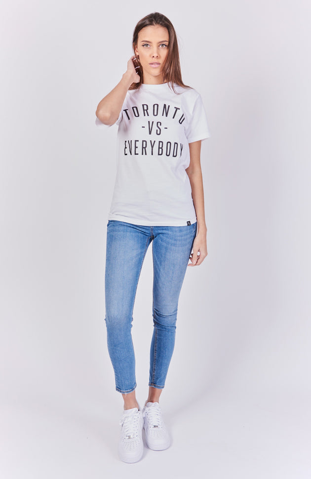 Toronto -vs- Everybody T-Shirt - White