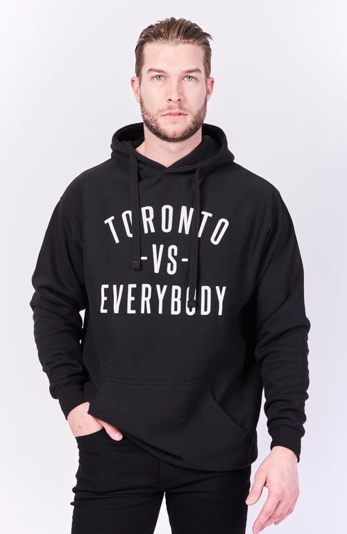 Toronto -vs- Everybody Hoodie - Black