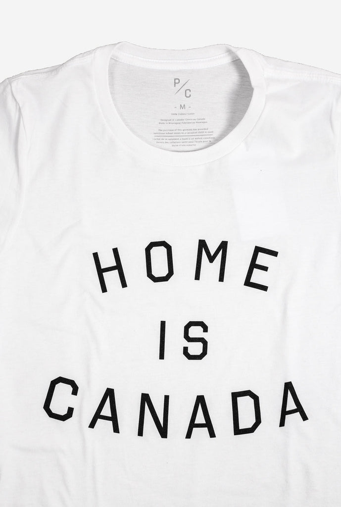 Home is Canada Women's T-Shirt - White