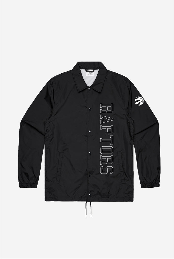 Toronto Raptors Coach Jacket - Black