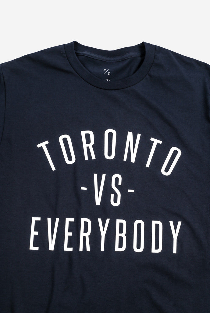 Toronto -vs- Everybody T-Shirt - Navy