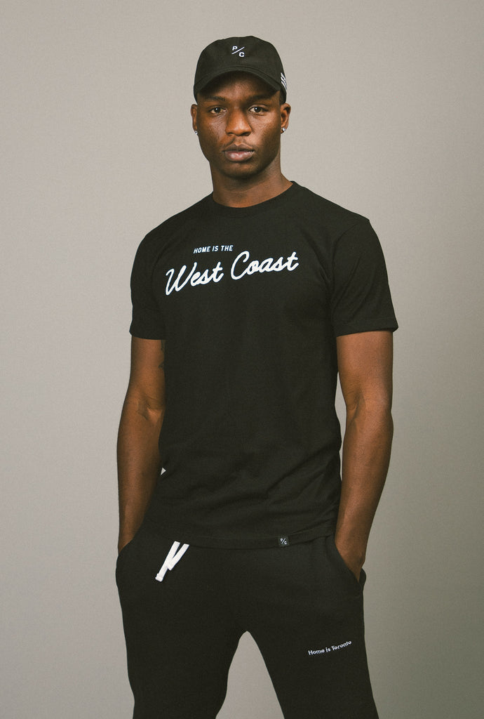 Home is the West Coast T-Shirt - Black