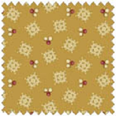 AUBERGINE 33640 3 Civil War Pattern Gold Windham Fat Quarter