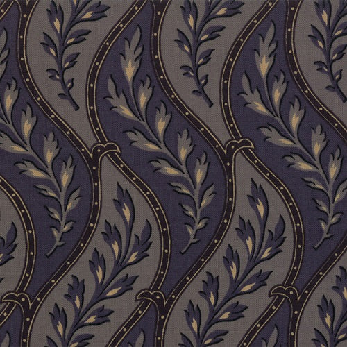 1862 BATTLE HYMN 8220 11 Serpentine Trail Blue MODA