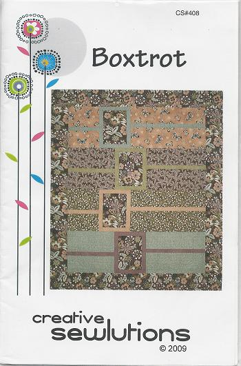 BOXTROT CS408 Pattern Creative Sewlutions
