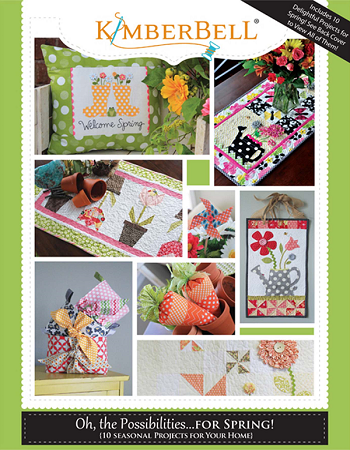 KIMBERBELL OH THE POSSIBILITIES FOR SPRING KD702 Book Kimberbell Designs