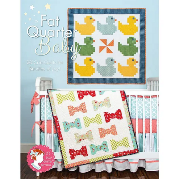 FAT QUARTER BABY ISE-909 Book It's Sew Emma