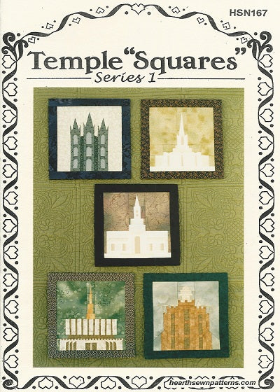 TEMPLE SQUARES HSN170 Pattern Series 2 Hearthsewn