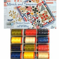 AUSTIN BLUEBIRD Thread Collection Minick & Simpson Aurifil