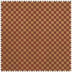BISCOTTI 22224-RUS1 Checks Rust Spectrix FAT QUARTERS