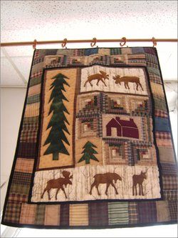 NORTHWOODS COUNTRY WALLHANGING