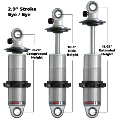 Universal HQ Series CoilOvers - Rear