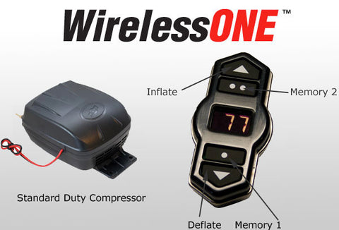 Airlift Wireless One Remote Control For Air Springs