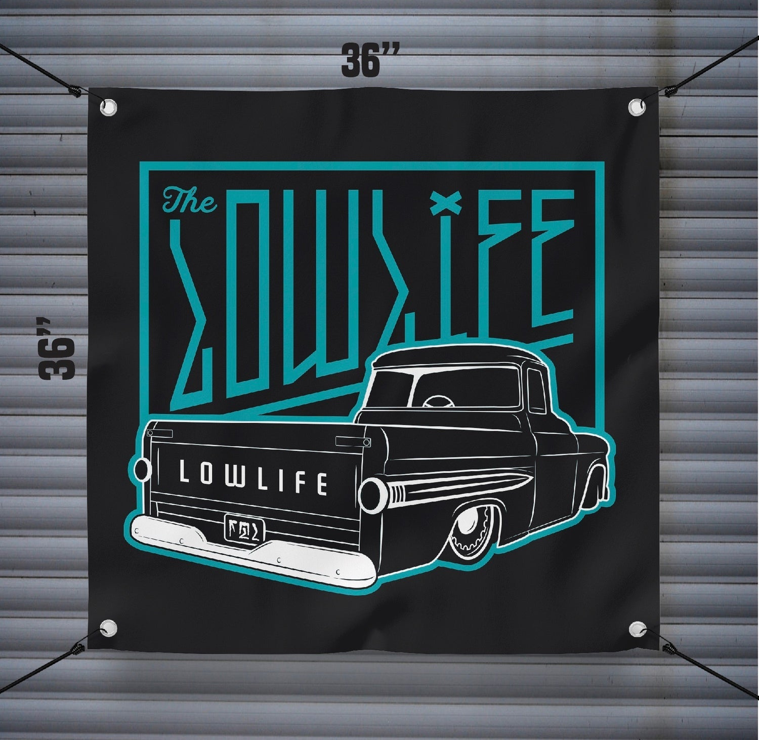 Lowlife Fleetside Banner