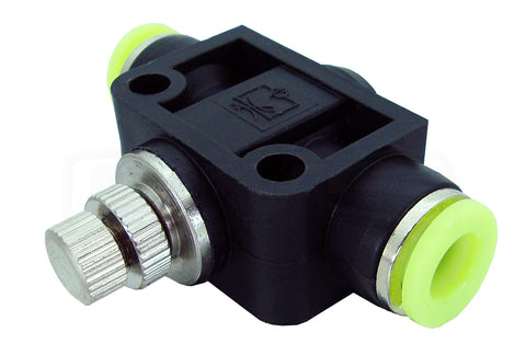 "3/8"" PUSH CONNECT SLOW DOWN FOR IN LINE FILL CONTROL (150 PSI)"
