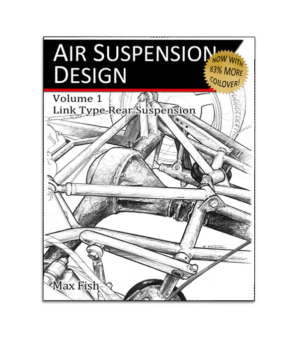 Air Suspension Design Book w/ Coilovers Volume 1, 2nd edition